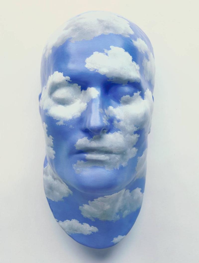 L'avenir des statues / The Future of Statues, René Magritte, 1937. Classification: relief; Medium: Peinture à l'huile sur plâtre Dimensions: 33 cm x 16,5 cm x 20,3 cm Référence au catalogue de la Tate Gallery: T03258