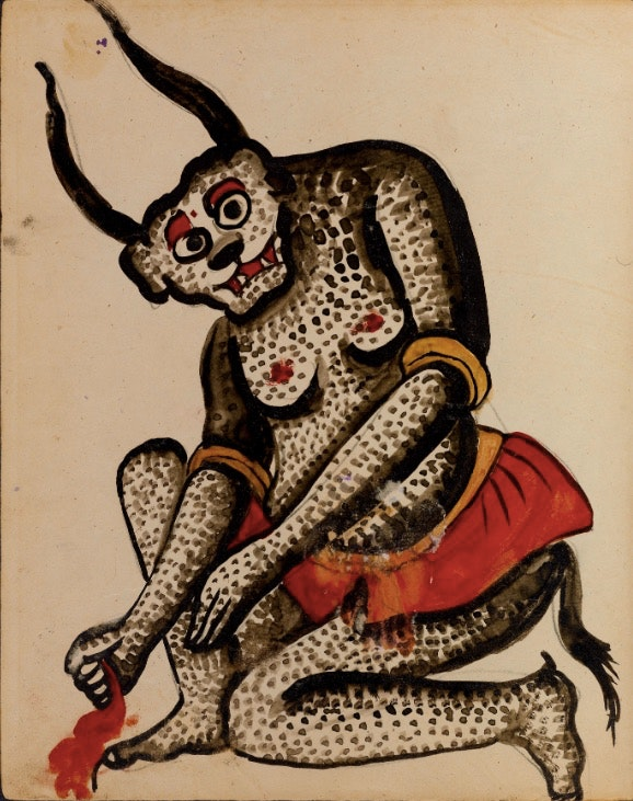 Persian Demons from a Book of Magic and Astrology (1921)