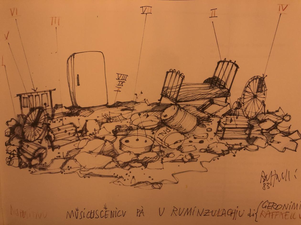 U Ruminzulaghju, Dumenicantone Geronimi et Micheli Raffaelli, 1984