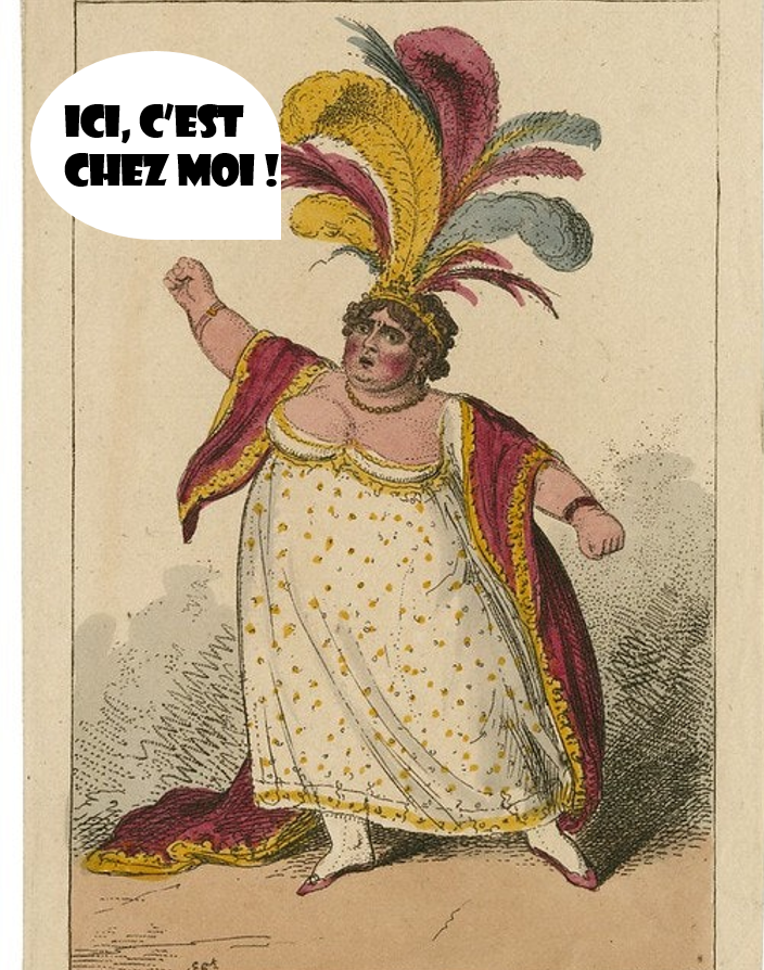 Composition, Robba, 2021. A partir de Tom Thumb by Henry Fielding, 1817
