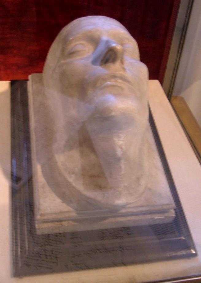 Original du masque mortuaire de Napoléon I° exécuté par Antommarchi Musée de l'Armée