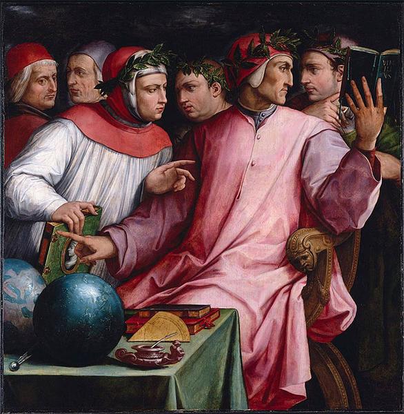 Giorgio Vasari, Dante e i poeti
